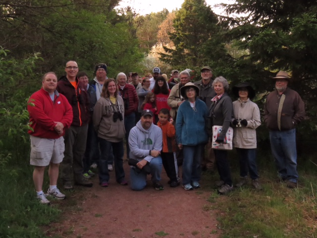 IMBD/Wausau Bird Club birding tour at Monk Gardens